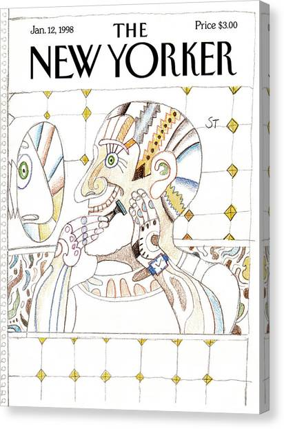 New Yorker January 12th, 1998 Canvas Print