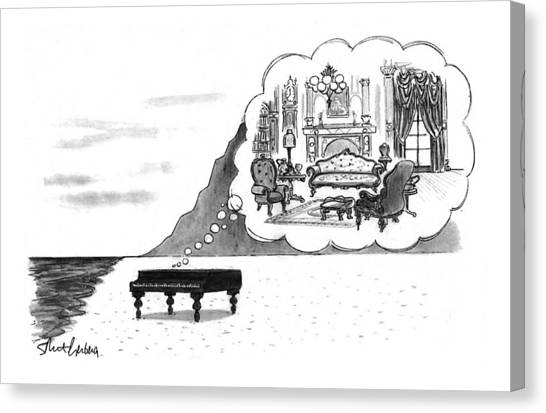 New Yorker January 24th, 1994 Canvas Print