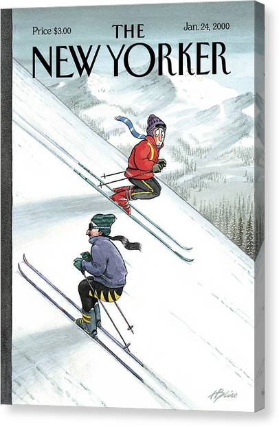 New Yorker January 24th, 2000 Canvas Print