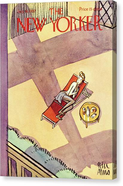 New Yorker July 10 1937 Canvas Print