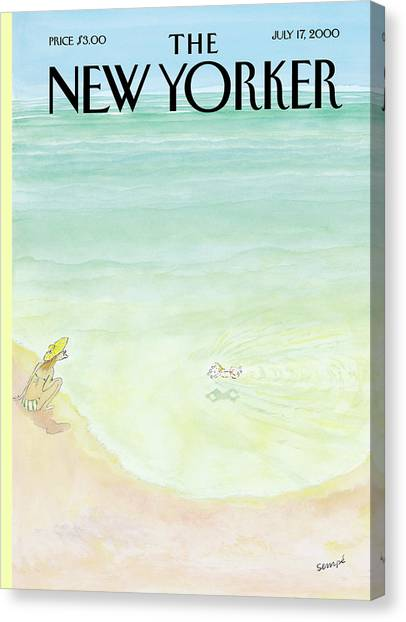 New Yorker July 17th, 2000 Canvas Print