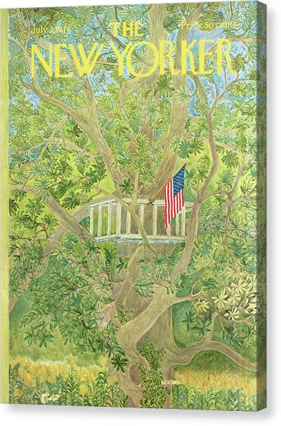 New Yorker July 3rd, 1971 Canvas Print