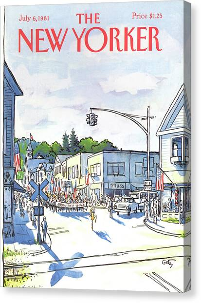New Yorker July 6th, 1981 Canvas Print