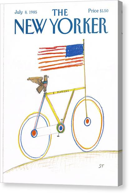 New Yorker July 8th, 1985 Canvas Print
