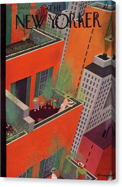 New Yorker June 12th, 1937 Canvas Print