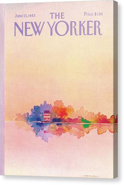 Susan Canvas Print - New Yorker June 13th, 1983 by Susan Davis