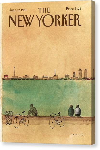 New Yorker June 22nd, 1981 Canvas Print