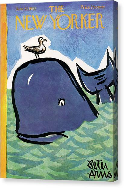 New Yorker June 23rd, 1962 Canvas Print