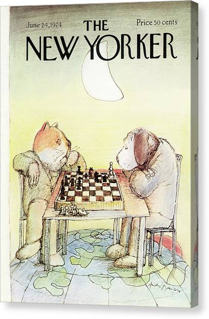 New Yorker June 24th, 1974 Canvas Print