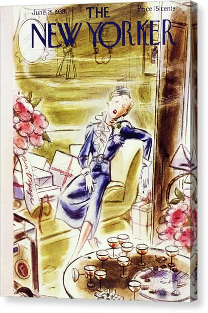 New Yorker June 25 1938 Canvas Print