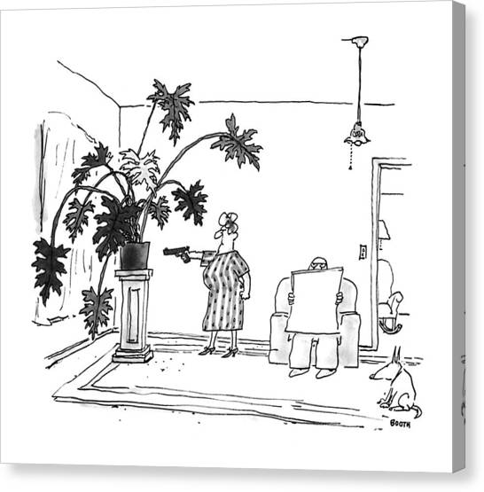 New Yorker June 29th, 1992 Canvas Print