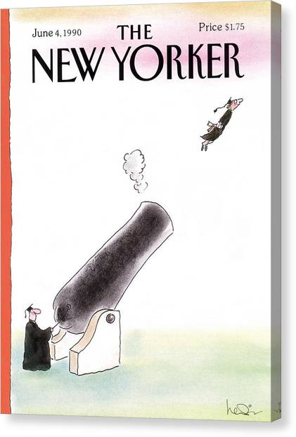 New Yorker June 4th, 1990 Canvas Print