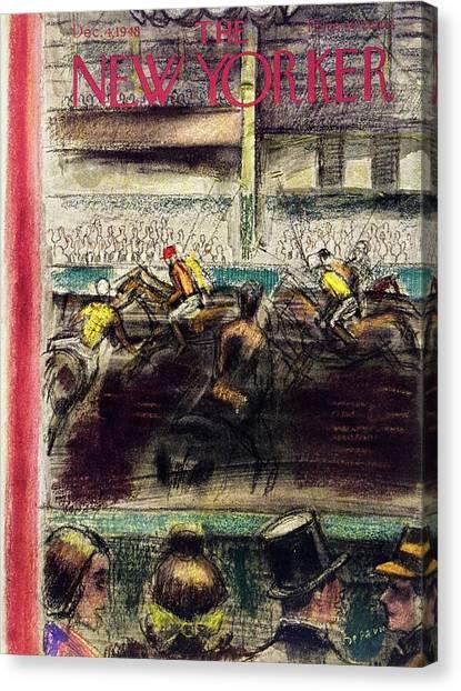 New Yorker December 4, 1948 Canvas Print
