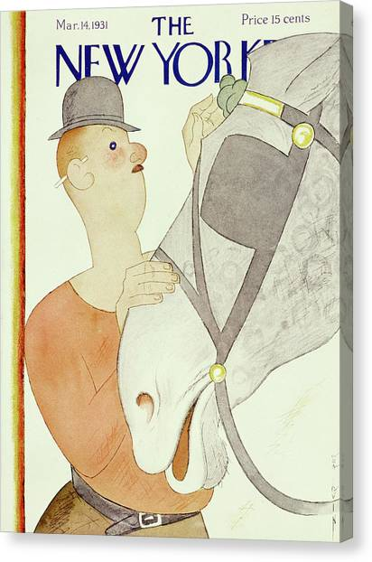 New Yorker March 14 1931 Canvas Print
