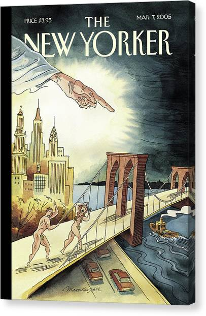 New Yorker March 7, 2005 Canvas Print