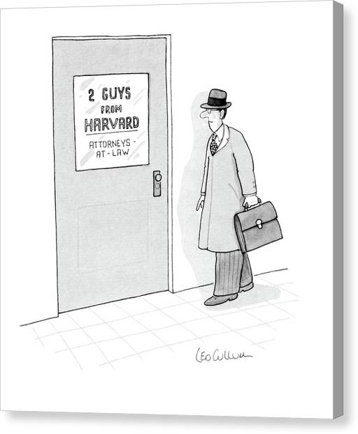 New Yorker May 14th, 1984 Canvas Print