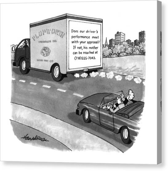 New Yorker May 17th, 1993 Canvas Print