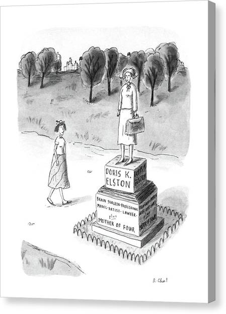 New Yorker May 18th, 1987 Canvas Print