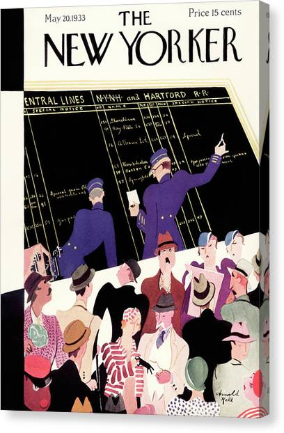New Yorker May 20th, 1933 Canvas Print