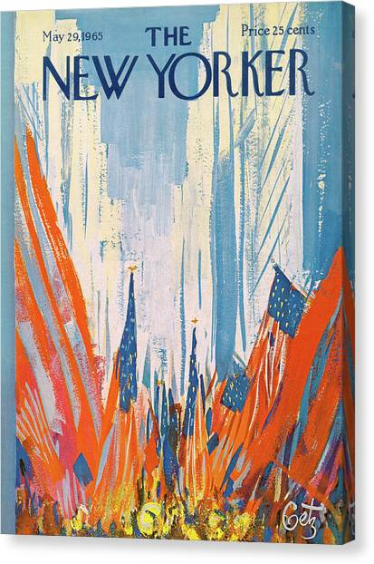 New Yorker May 29th, 1965 Canvas Print