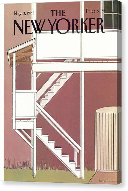 New Yorker May 3rd, 1982 Canvas Print