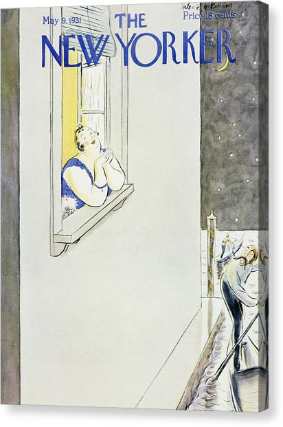 New Yorker May 9 1931 Canvas Print
