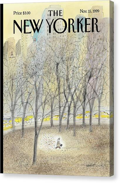 New Yorker November 15th, 1999 Canvas Print