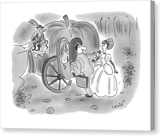 New Yorker November 22nd, 1993 Canvas Print
