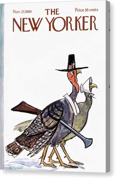 New Yorker November 27th, 1965 Canvas Print