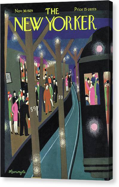 New Yorker November 30th, 1929 Canvas Print