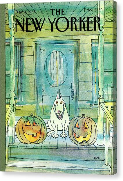 New Yorker November 4th, 1985 Canvas Print