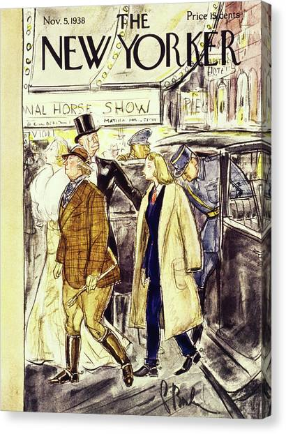 New Yorker November 5 1938 Canvas Print