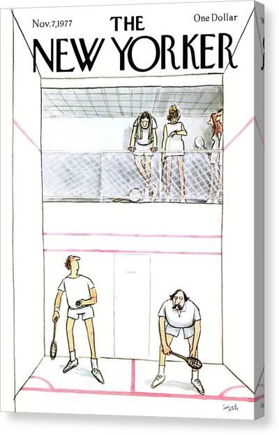New Yorker November 7th, 1977 Canvas Print
