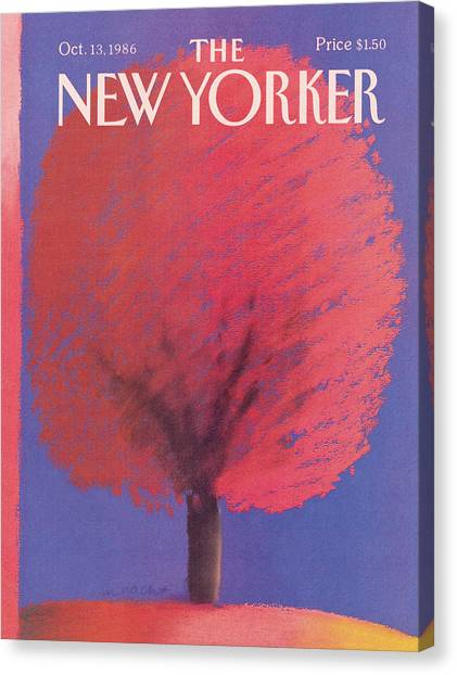 New Yorker October 13th, 1986 Canvas Print