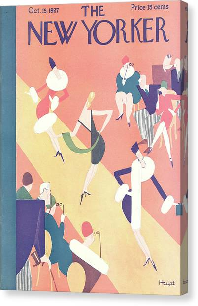 New Yorker October 15th, 1927 Canvas Print