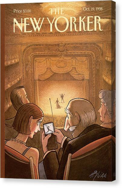 New Yorker October 19th, 1998 Canvas Print