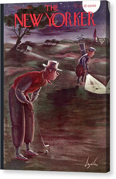 New Yorker October 1st, 1938 Canvas Print