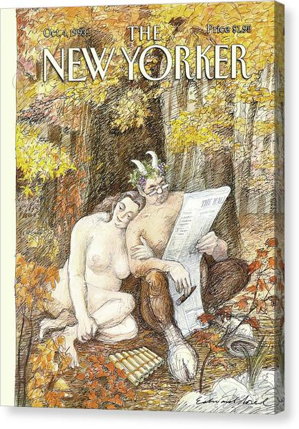 New Yorker October 4th, 1993 Canvas Print