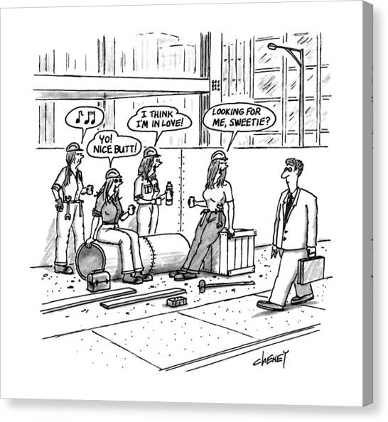 New Yorker October 5th, 1992 Canvas Print