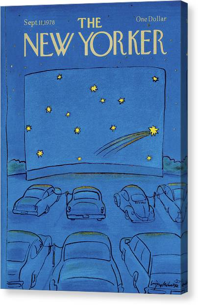 New Yorker September 11th, 1978 Canvas Print