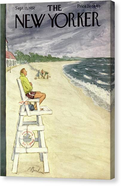 New Yorker September 13th, 1952 Canvas Print