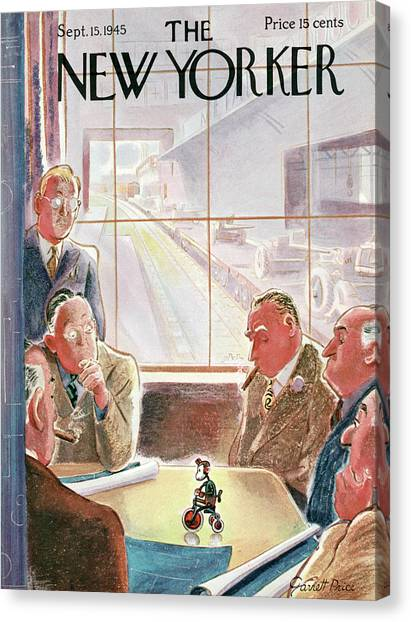 New Yorker September 15, 1945 Canvas Print