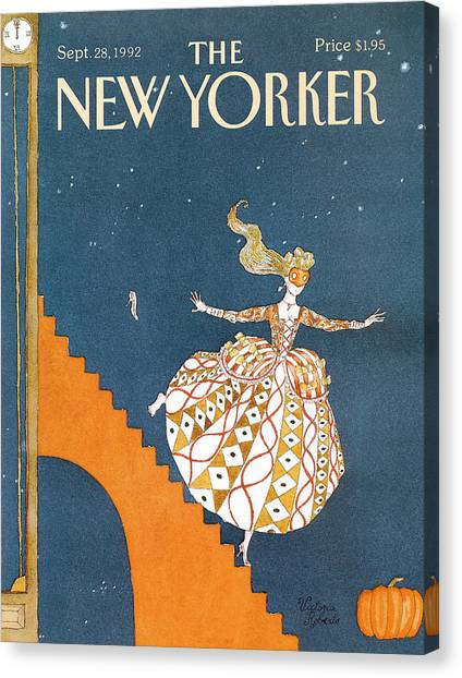 New Yorker September 28th, 1992 Canvas Print
