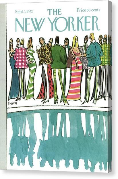 New Yorker September 3rd, 1973 Canvas Print