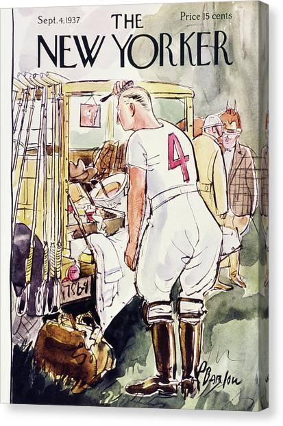 New Yorker September 4 1937 Canvas Print