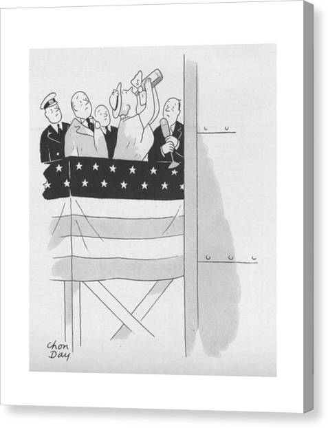 New Yorker September 4th, 1943 Canvas Print