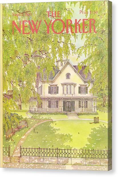 New Yorker September 5th, 1983 Canvas Print