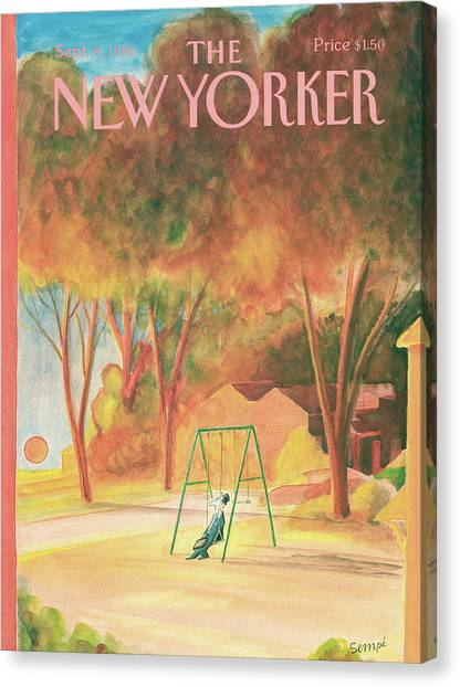 New Yorker September 9th, 1985 Canvas Print
