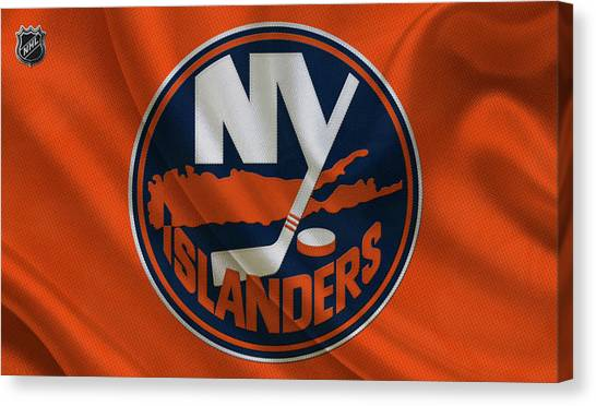 New York Islanders Canvas Print - New Yorkislanders by Joe Hamilton