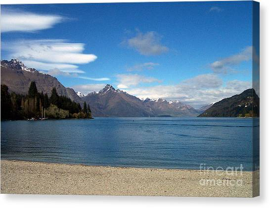 New Zealand Fjord Canvas Print